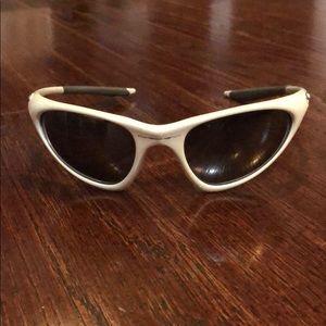 Oakley Topcoat White/Pearl Sunglasses